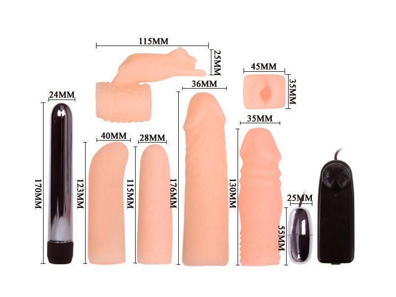 Sex toy bộ dụng cụ kích thích nhiều món 3