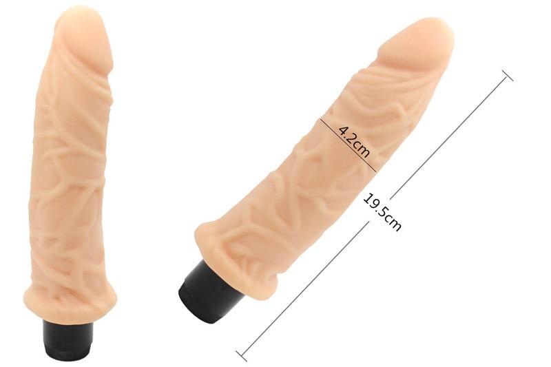 Sex toy dương vật giả gân guốc Real Feel LV1003 dài 8.5 inch 4