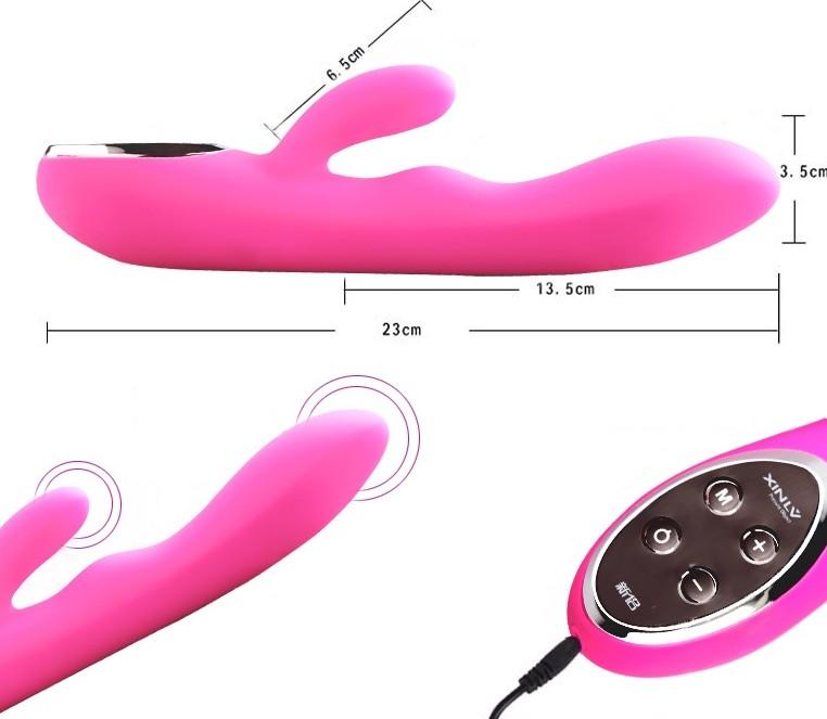 Sex toy dương vật giả XL801 đa chức năng pin sạc cao cấp 4