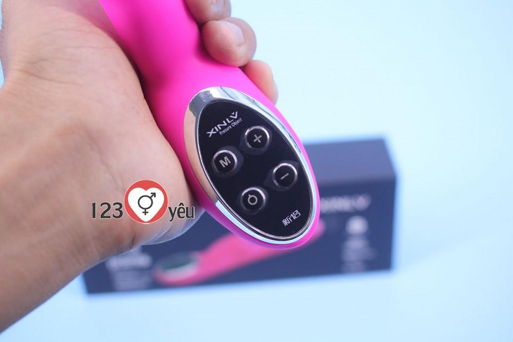 Sex toy dương vật giả XL801 đa chức năng pin sạc cao cấp 3