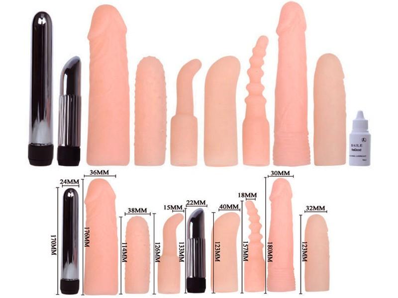 Bộ dụng dụng cụ sex toy kích thích 2