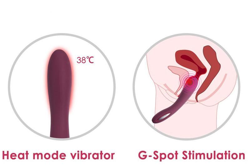 Sex toy massage điểm G Svakom Leslie phát nhiệt nhập khẩu Mỹ 12