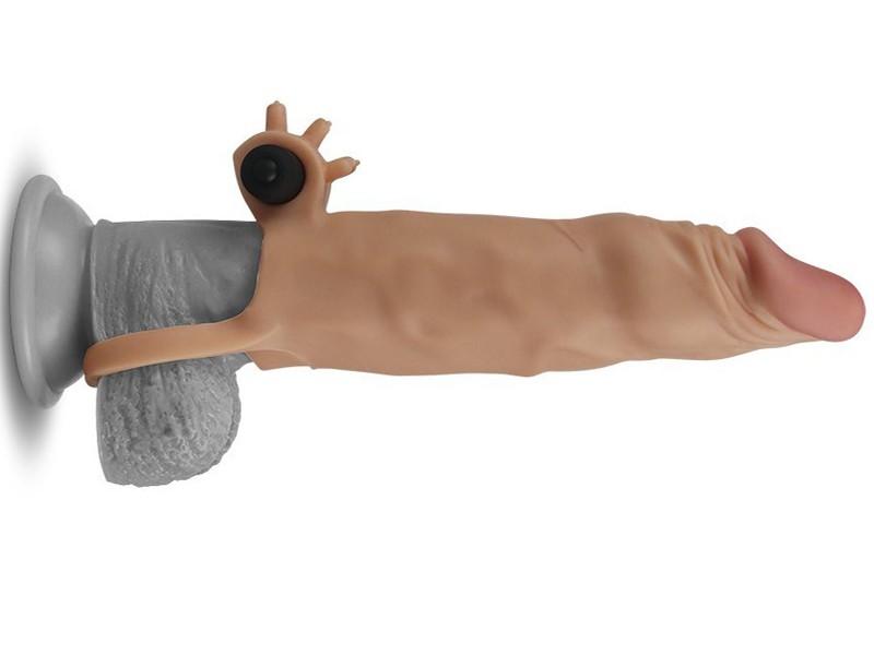 Sex toy bao cao su đôn dên có quai đeo siêu mềm cao cấp Lovetoy 5