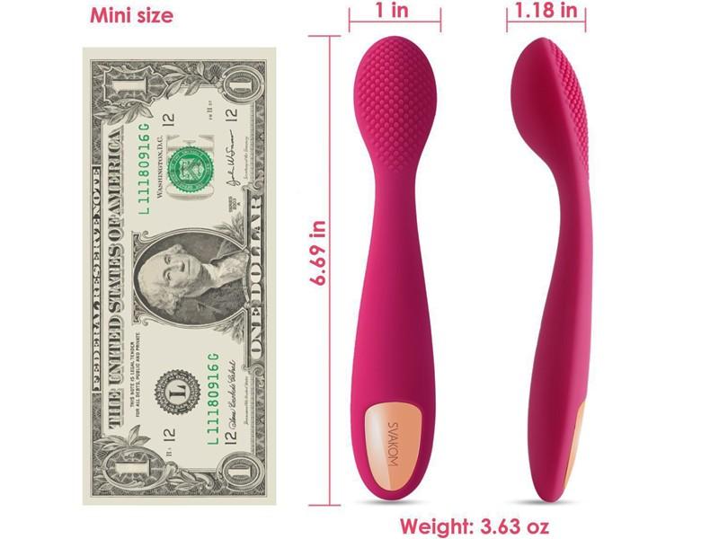 Sex toy massage điểm G Svakom NINA nhập khẩu USA thiết kế sang trọng 3