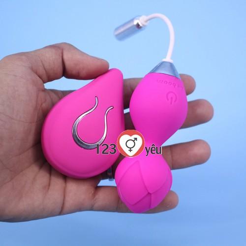 Sex toy trứng rung tình yêu pin sạc độc lạ