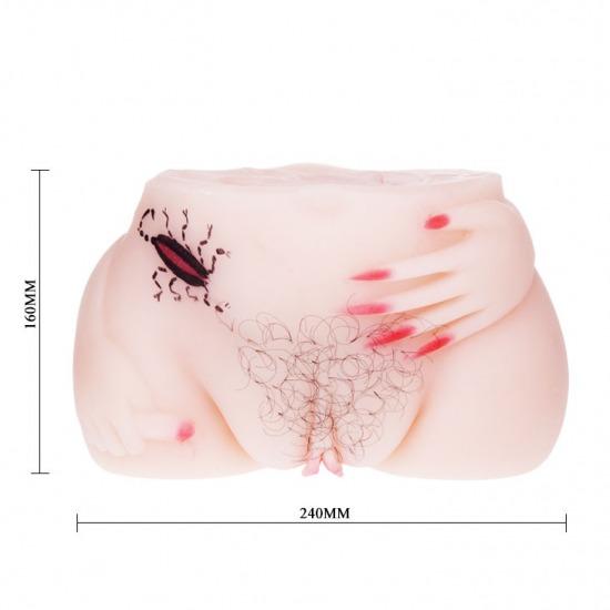 Sextoy âm đạo giả mông silicon cao cấp Supper Climax 4
