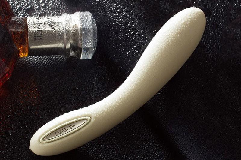 Sex toy massage điểm G Svakom Leslie phát nhiệt nhập khẩu Mỹ 7