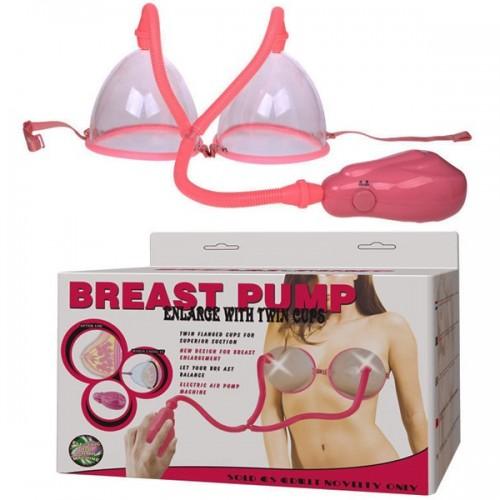 Sex toy máy bơm nở ngực tự động Breast Pump
