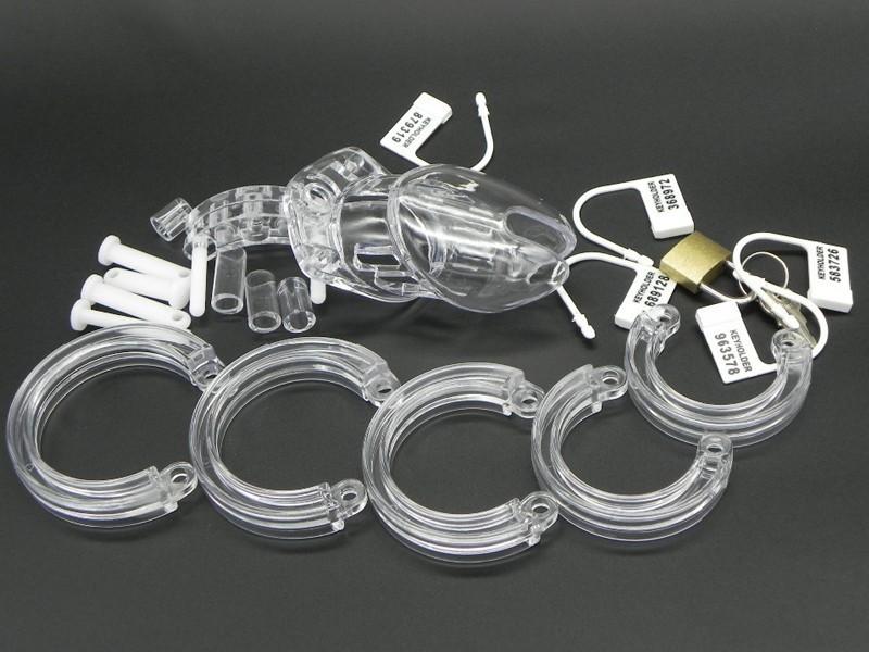 Sextoy bạo dâm khóa dương vật nhựa KC99 6